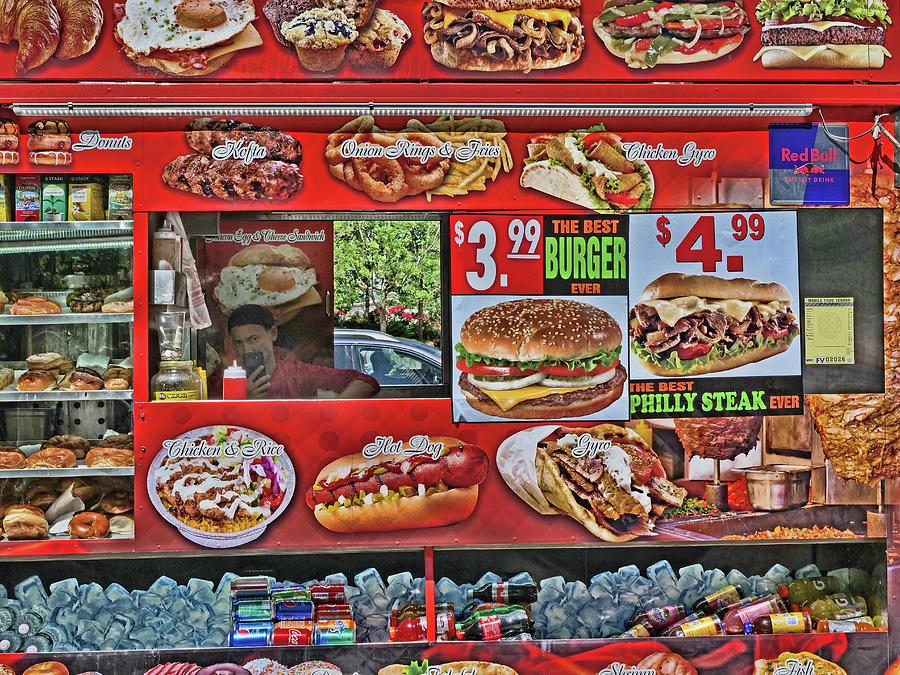 The Best Burger E V E R Photograph