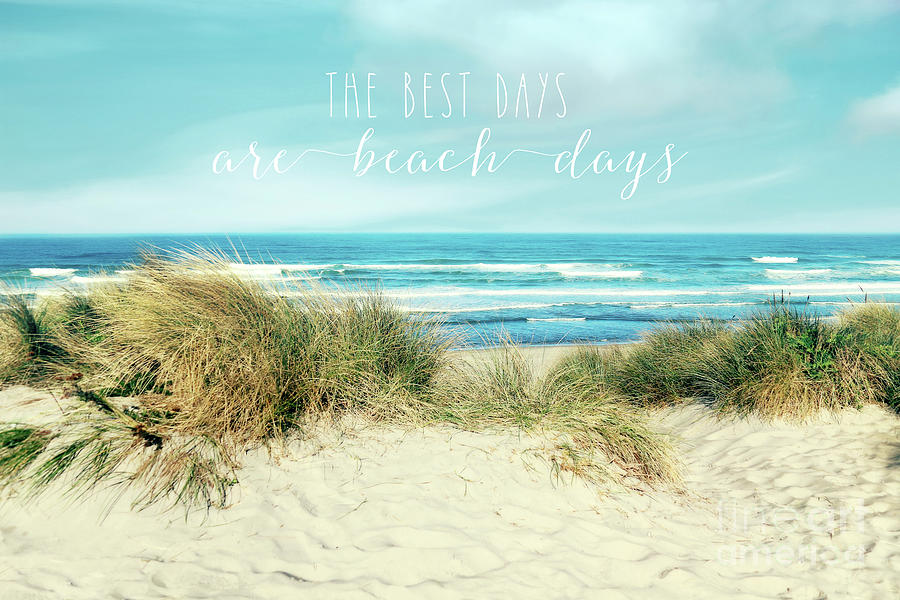 The best days are beach days by Sylvia Cook