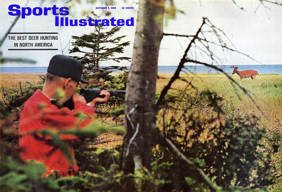 The Best Deer Hunting In North America Sports Illustrated Cover Photograph by Sports Illustrated