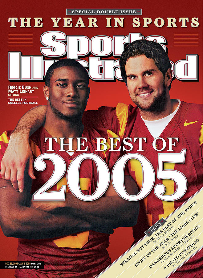 The Best Of 2005 Reggie Bush And Matt Leinart Of Usc Sports Illustrated Cover Photograph by Sports Illustrated