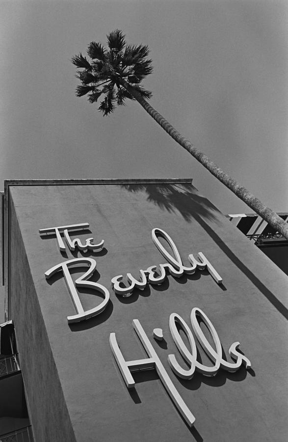 The Beverly Hills Hotel Photograph by George Rose