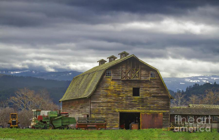 The Big Barn  by Mitch Shindelbower