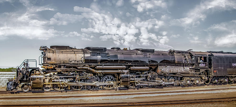 Train Photograph - The Big Boy Resurrected by Laura Terriere