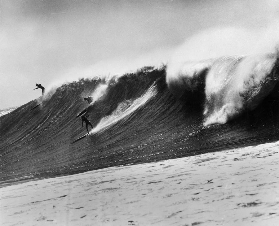 The Big One Photograph by American Stock Archive