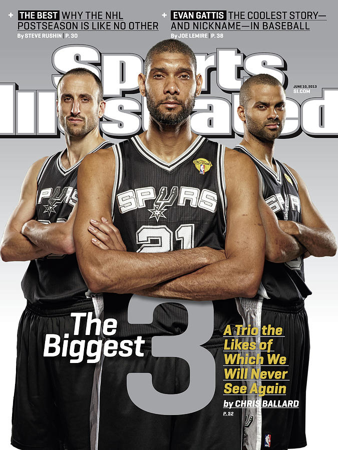 The Biggest 3 Sports Illustrated Cover Photograph by Sports Illustrated
