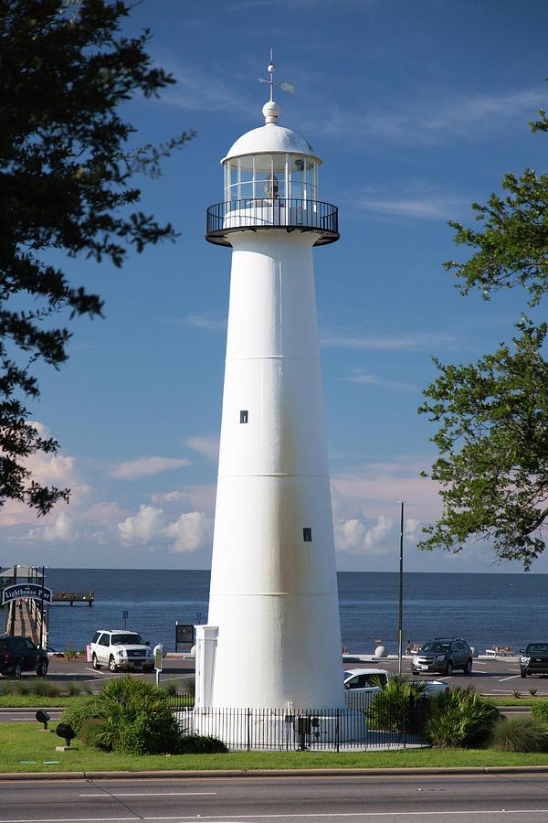 The Biloxi Lighthouse Photograph By David M Porter