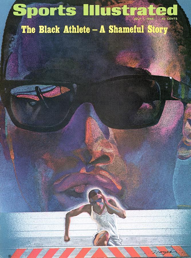 The Black Athlete A Shameful Story Sports Illustrated Cover Photograph by Sports Illustrated