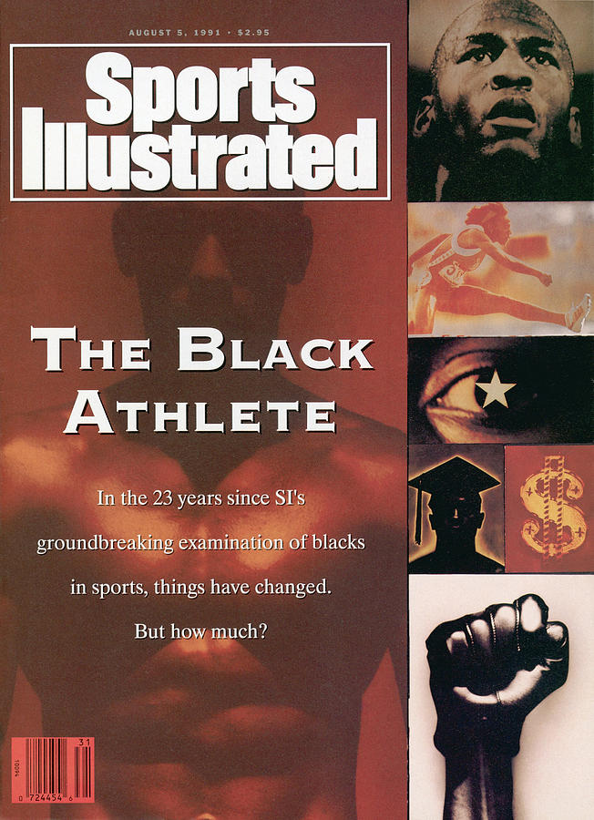 The Black Athlete In The 23 Years Since Sis Groundbreaking Sports Illustrated Cover Photograph by Sports Illustrated