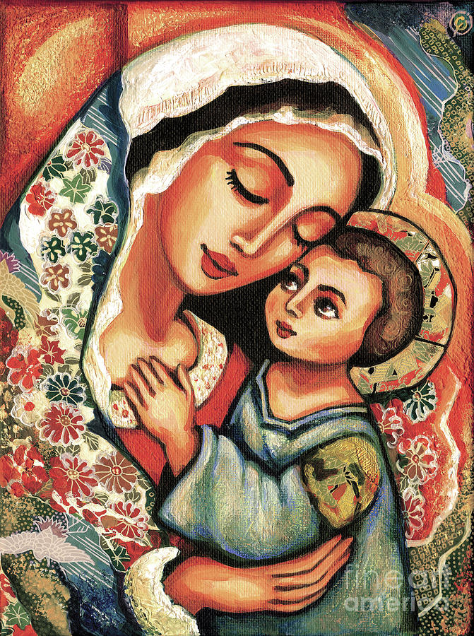 The Blessed Mother by Eva Campbell