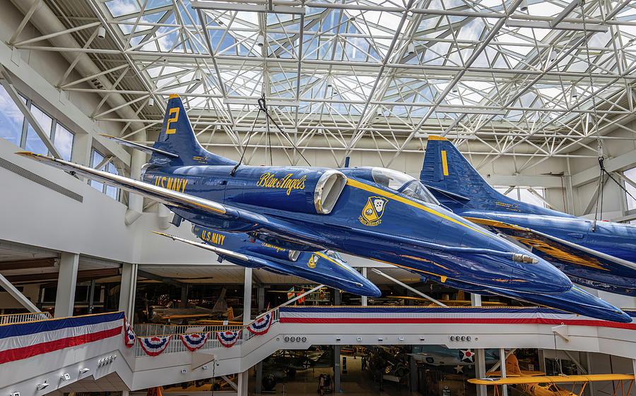 The Blue Angels Atrium by Tim Stanley