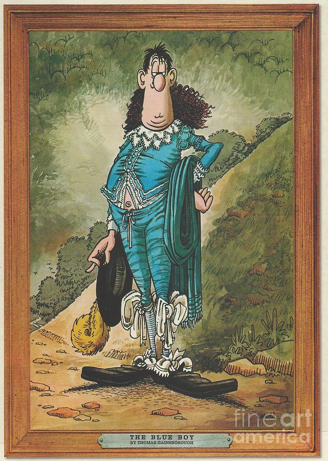 The Blue Boy Thomas Gainsborough Art Poster 24x36