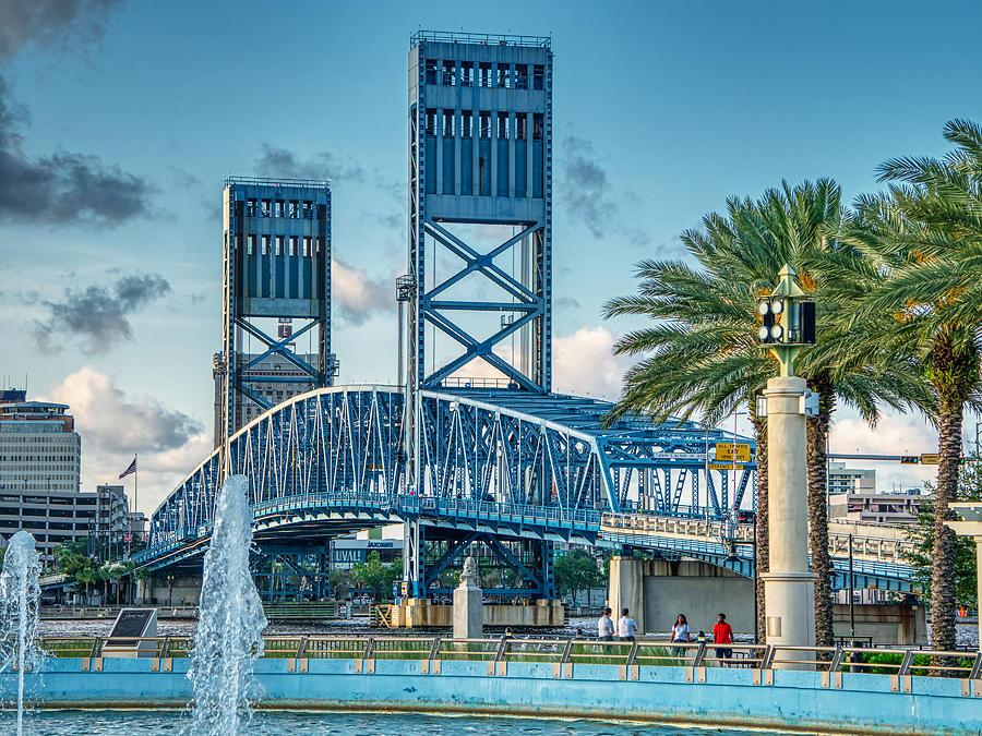 The Blue Bridge by Farol Tomson