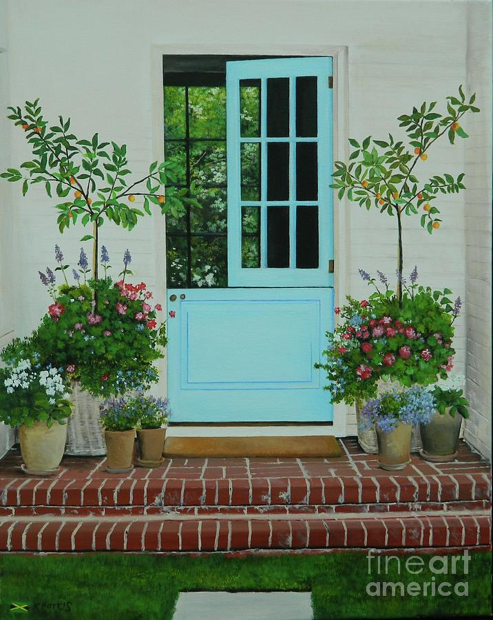 The Blue Door by Kenneth Harris