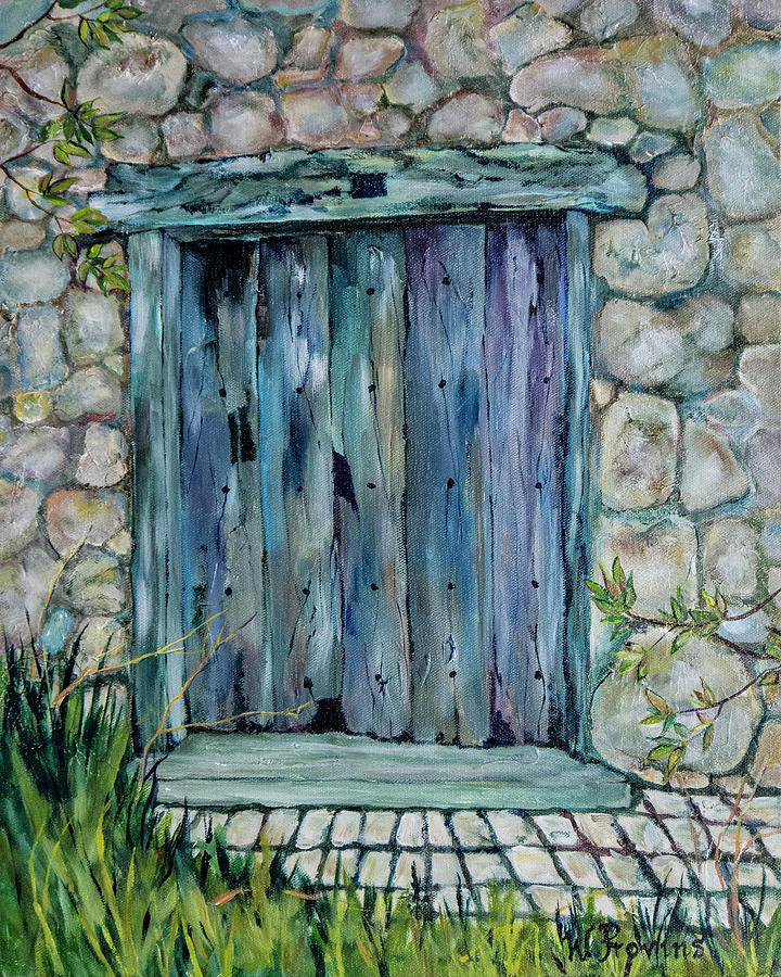 The Blue Door Portugal by Wendy Provins
