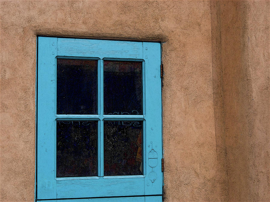 The Blue Door by Western Light Graphics
