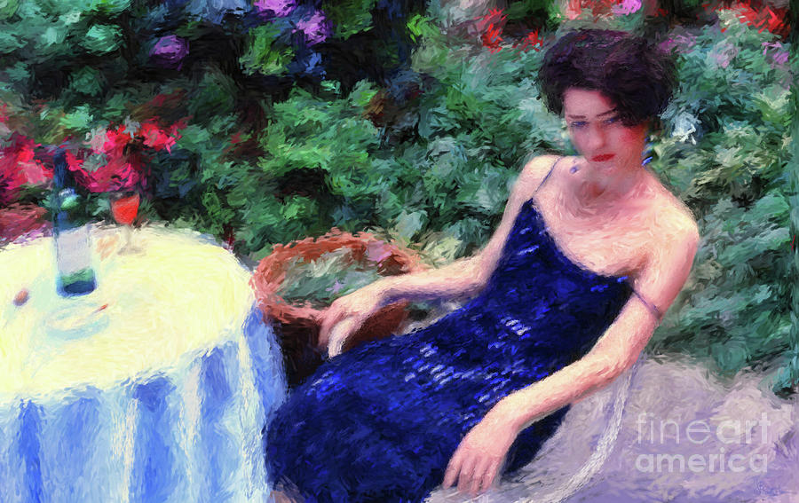The Blue Dress by Jeff Breiman