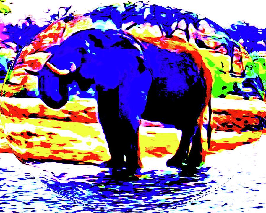 The Blue Elephant by Jerome Stumphauzer