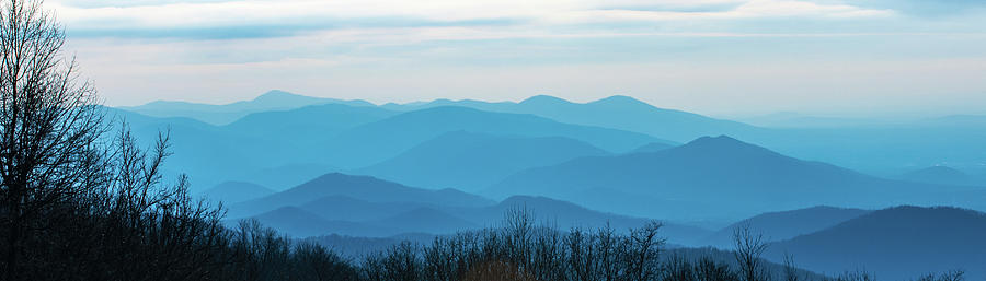 The Blue Ridge Mountains by Mark Duehmig
