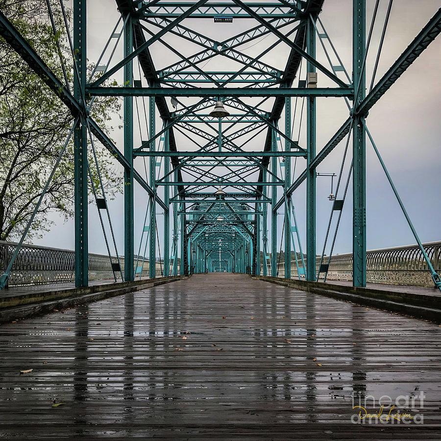 The Bones of Chattanooga's Walnut Street Bridge by David Levin