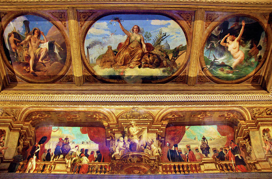 Horace Vernet Painting - The Bourbon Palace Peace - Digital Remastered Edition by Horace Vernet