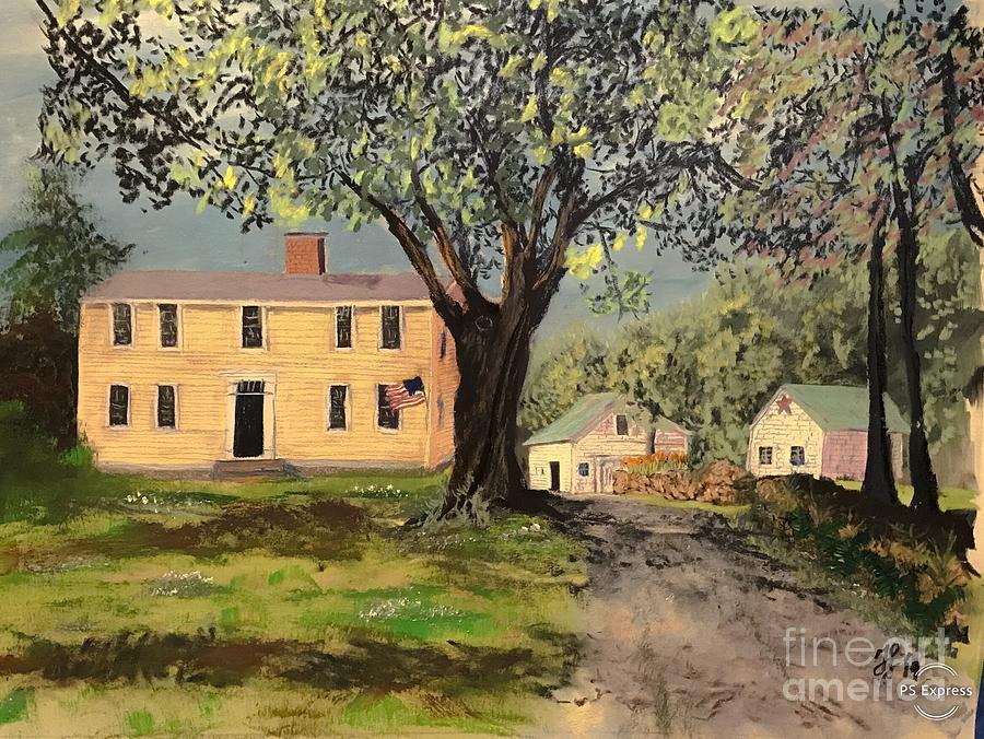 The Brackett Farm by Francois Lamothe