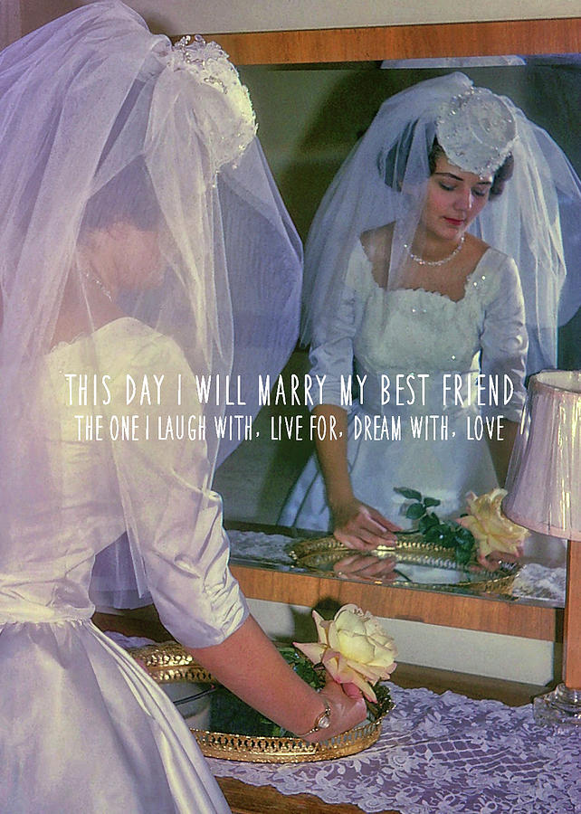 Bride Photograph - The Bride Quote by JAMART Photography