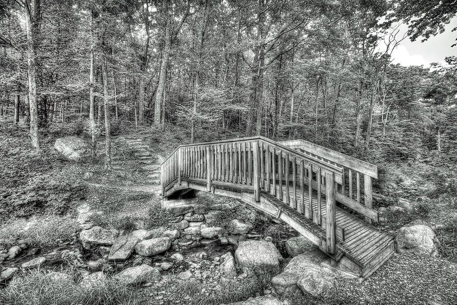 The Bridge At Sawmill by Dawn J Benko