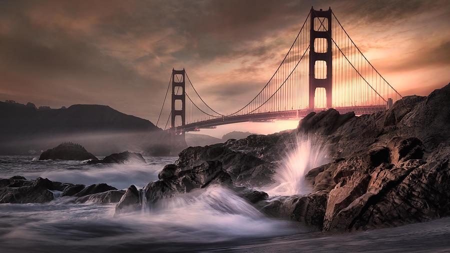 The Bridge Photograph by Paul M