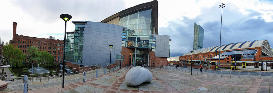 The Bridgewater Hall and Manchester Central Conference Central Panorama by IORDANIS PALLIKARAS