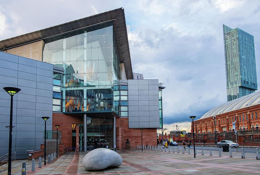 The Bridgewater Hall facing the Manchester Central Conference Centre by IORDANIS PALLIKARAS