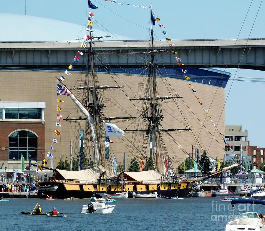 The Brig Niagara Tall Ship Buffalo NY 2019 by Rose Santuci-Sofranko