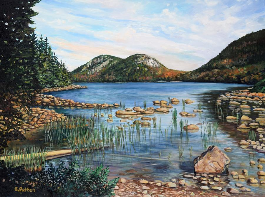 The Bubbles, Acadia National Park by Eileen Patten Oliver