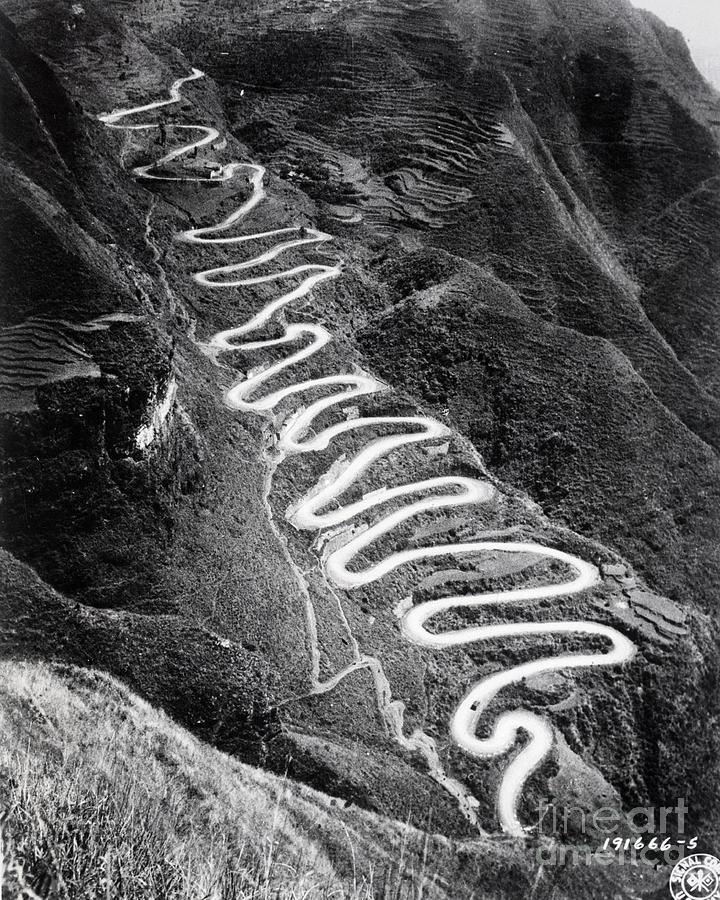 The Burma Road Photograph by Bettmann