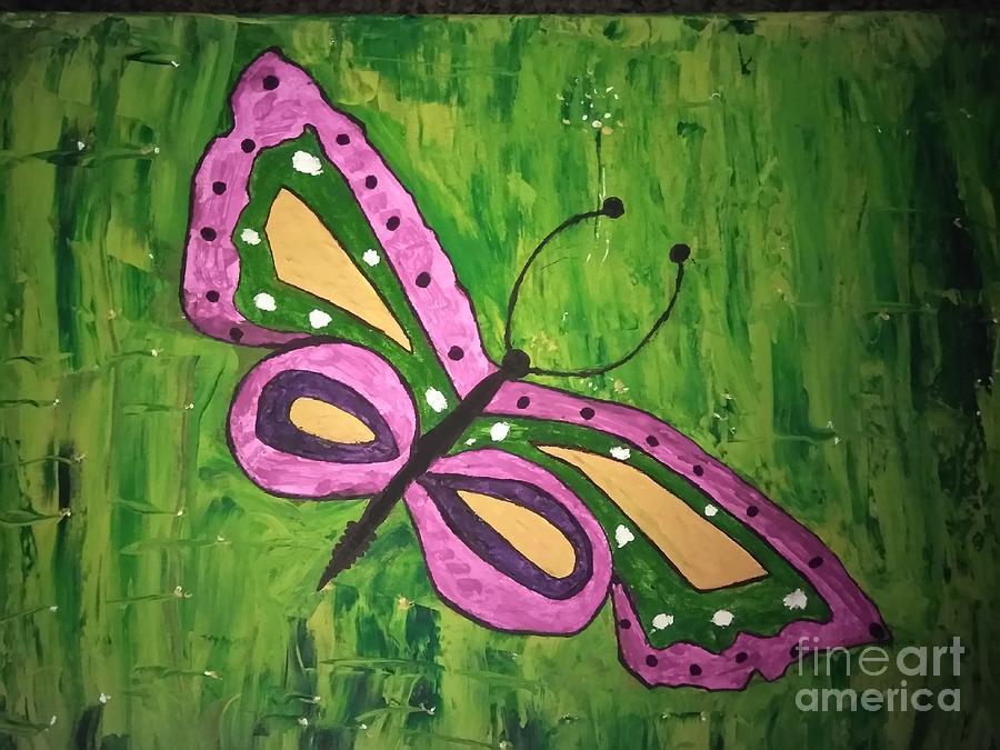 The butterfly by Joyce A Rogers