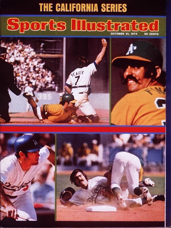 The California Series, 1974 World Series Sports Illustrated Cover Photograph by Sports Illustrated