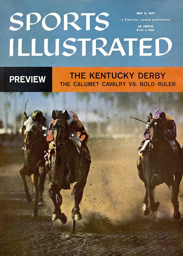 The Calumet Calvary, 1956 Florida Derby Sports Illustrated Cover Photograph by Sports Illustrated