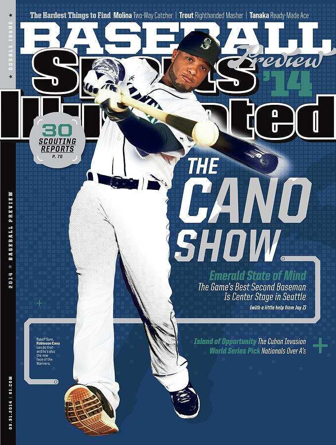 The Cano Show 2014 Mlb Baseball Preview Issue Sports Illustrated Cover Photograph by Sports Illustrated
