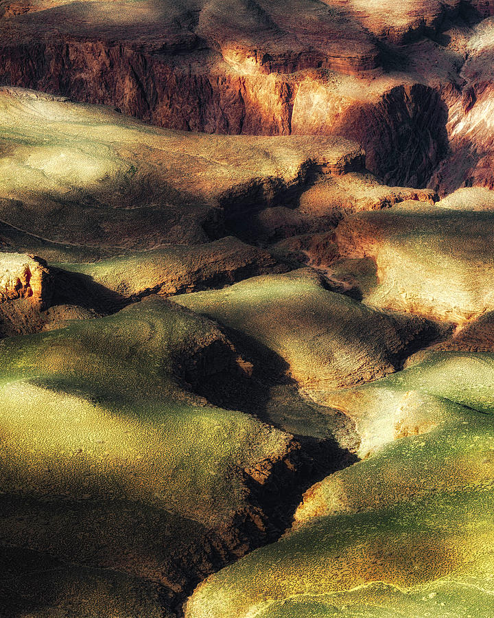 The Canyon Floor by Ron McGinnis