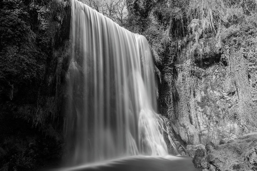 The capricious waterfall in the stone monastery by Vicen Photography