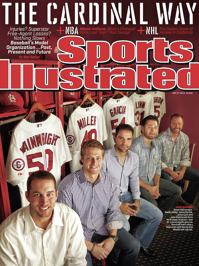 The Cardinal Way Baseballs Model Organization...past Sports Illustrated Cover Photograph by Sports Illustrated
