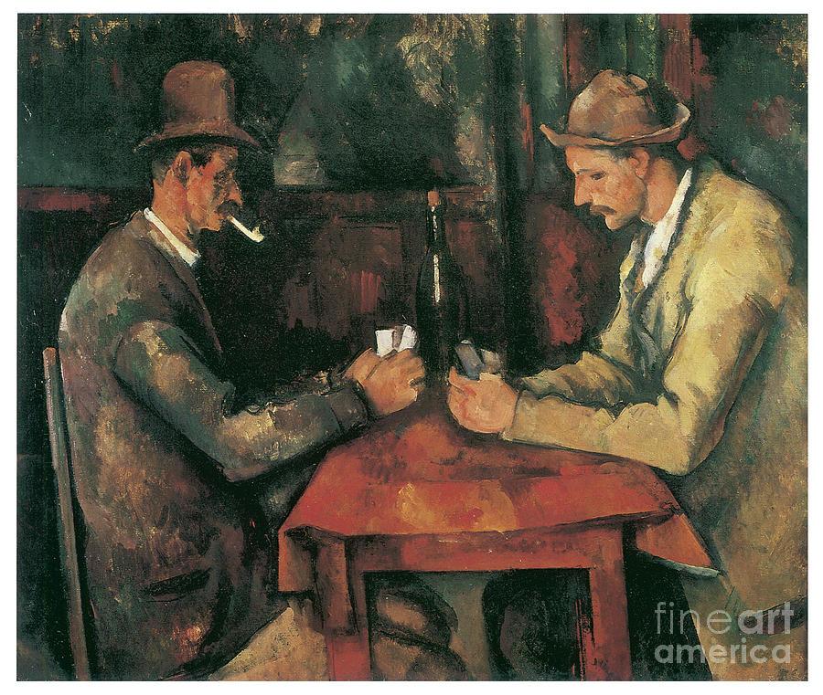 The Cardplayers by PAUL CEZANNE