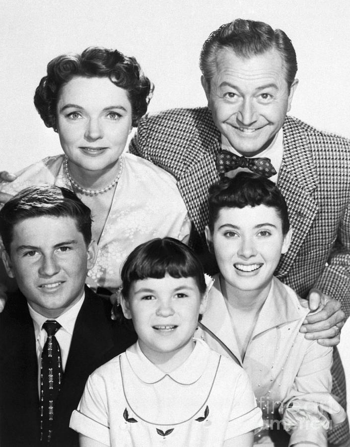 The Cast Of Father Knows Best Photograph by Bettmann
