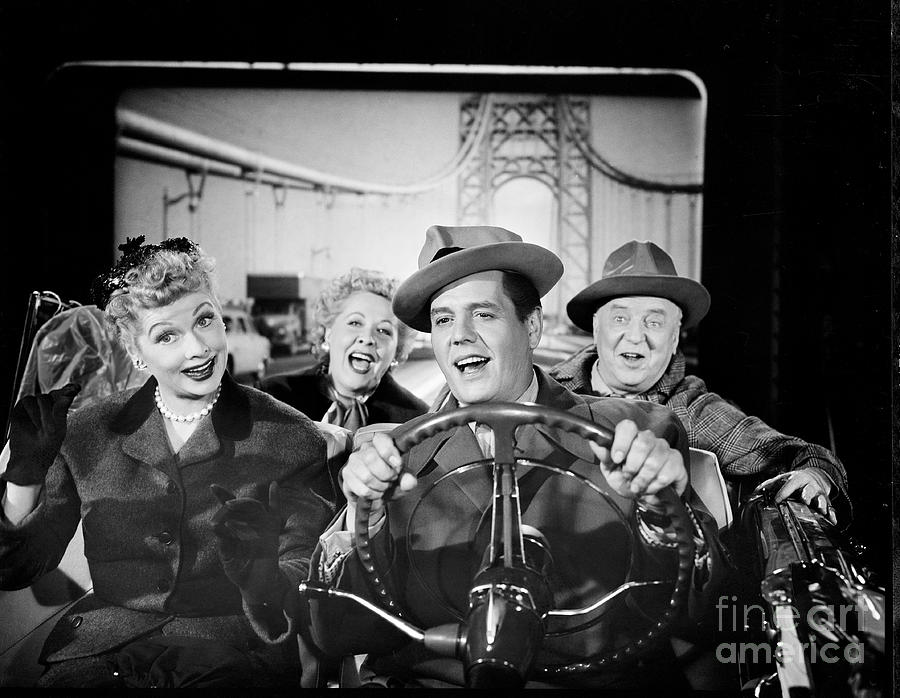 The Cast Of I Love Lucy Photograph by Cbs Photo Archive