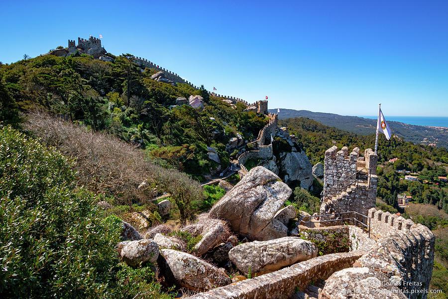 Castle Photograph - The Castle Of Moors by Fabio Gomes Freitas