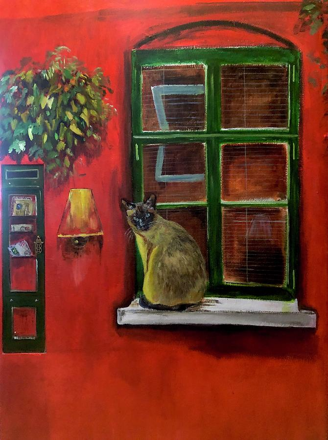 The Cat at the Window by Belinda Low