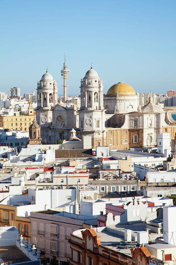 The Cathedral Of Cadiz Photograph by Peter Zoeller / Design Pics