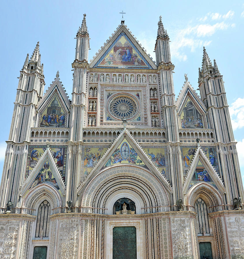 The Cathedral Of Orvieto - Italy Photograph by Grauy