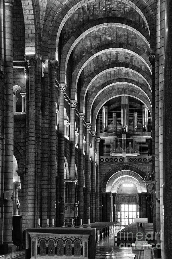 The Cathedral of Our Lady Immaculate, Monaco by Wayne Moran
