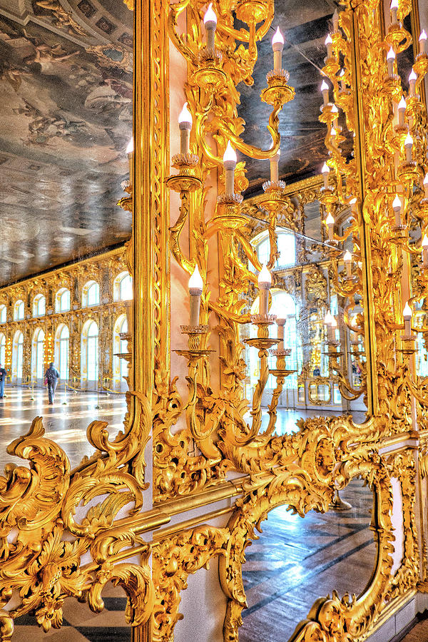 The Catherine Palace, Pushkin by Photos By Pharos