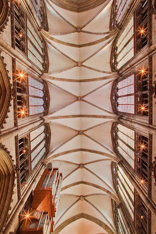 The Ceiling Of The Nave In Cologne Photograph by Julian Elliott Photography